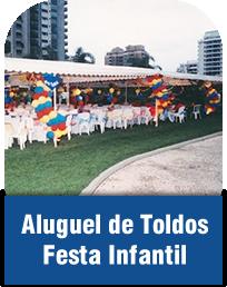 Aluguel de Toldos Festa Infantil